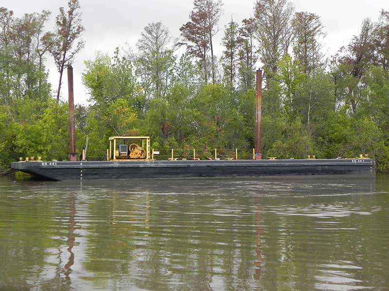 Flat Deck Barges - Deck Cargo Barges   McDonough Marine Service
