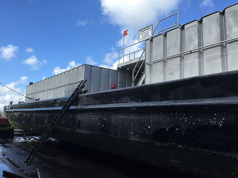 Liquid Mud Barges - Drilling Barge | McDonough Marine Service