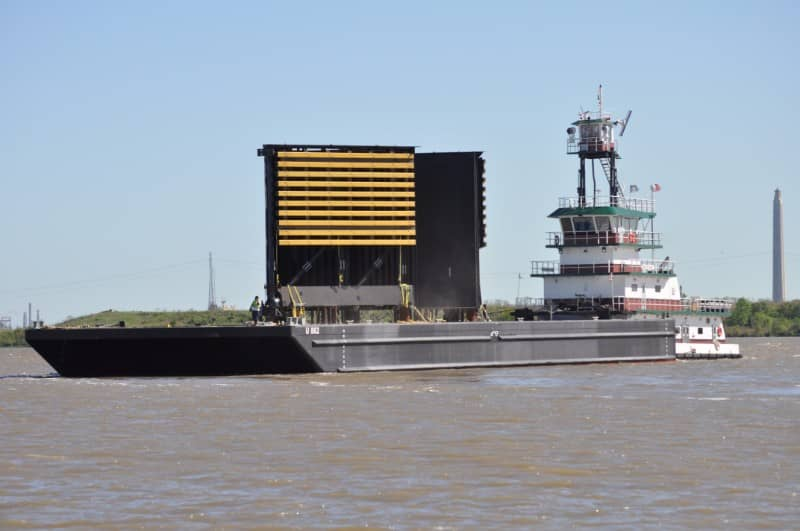 Ocean Barges - Over Sized Open Ocean Barge (ABS) | McDonough