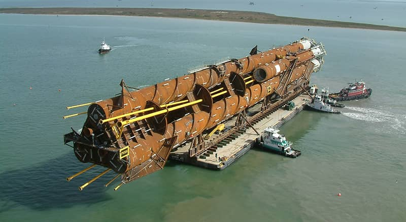 Cargo Barges - Heavy Lift Barge | McDonough Marine Service